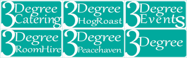 3Degree Catering and Events Logo