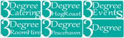 3Degree Catering and Events Mobile Logo
